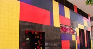 Fachada del Centro de Ocio Contemporáneo, mu bonica